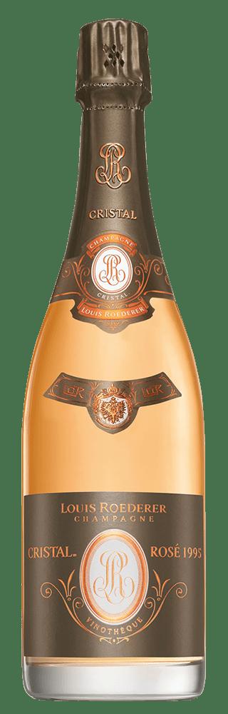 Louis Roederer Cristal Vinotheque Brut Rose Millesime 1995