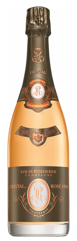 Louis Roederer Cristal Vinotheque Brut Rose Millesime 1996