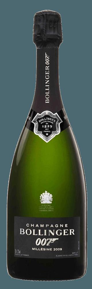 Bollinger La Grande Annee James Bond 007 Edition Brut Millesime 2009